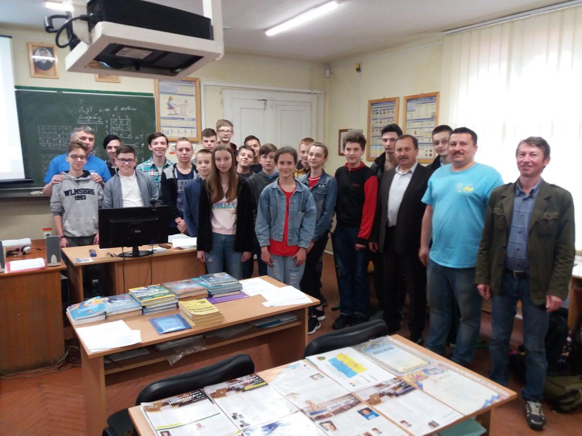 Учасники майстер-класу та лектори