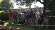 Студенти УТЕК на розкопках в Ужгородському замку