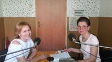 Галина Шумицька в ефірі радіо
