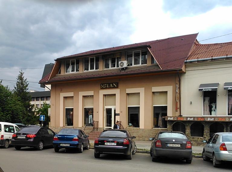 Будинок по вул. Л. Толстого, 10 (колишній «Маріїнський дім»), сучасне фото
