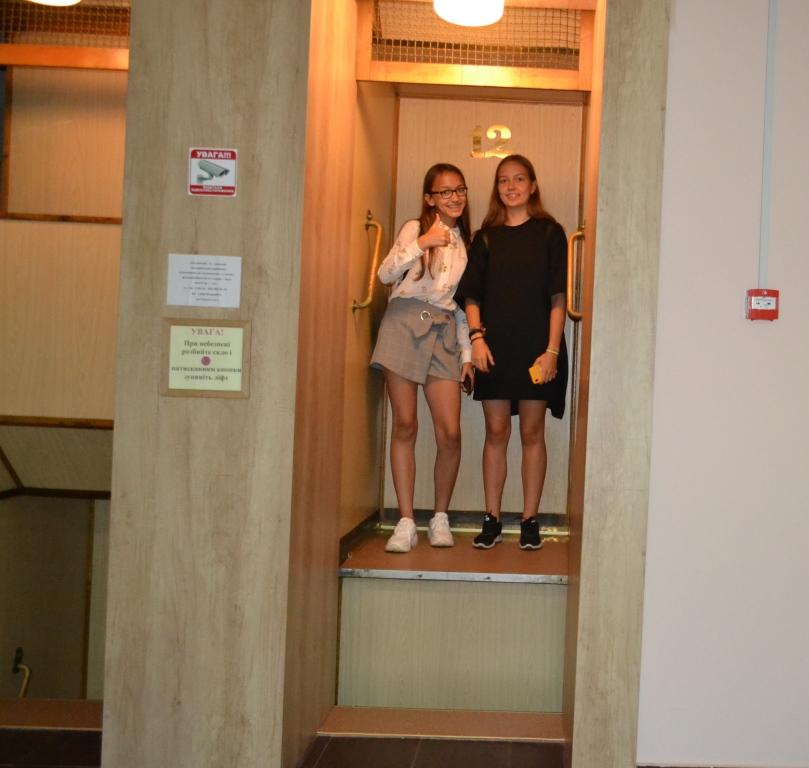 "У ліфті ""патерностер"""