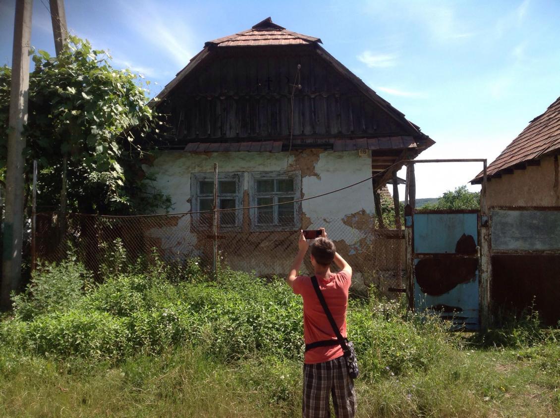 Фотофіксація хати у с. Копинівці