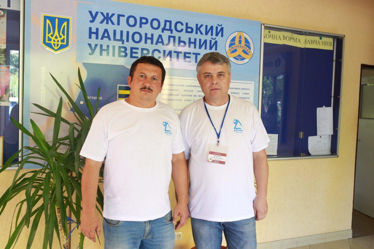 Організатори Школи - Олександр Міца та Сергій Вапнічний