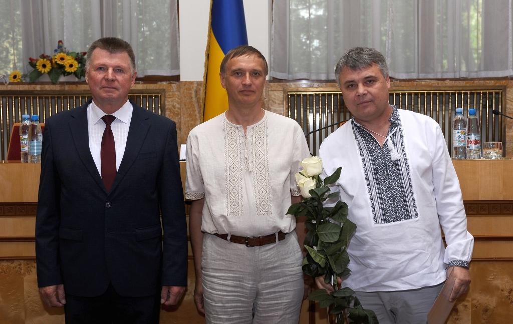 Нагороджений Сергій Вапнічний