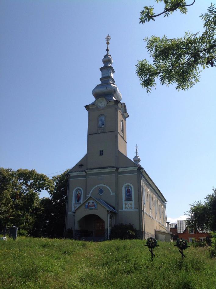Церква Святого Духа в с. Руське