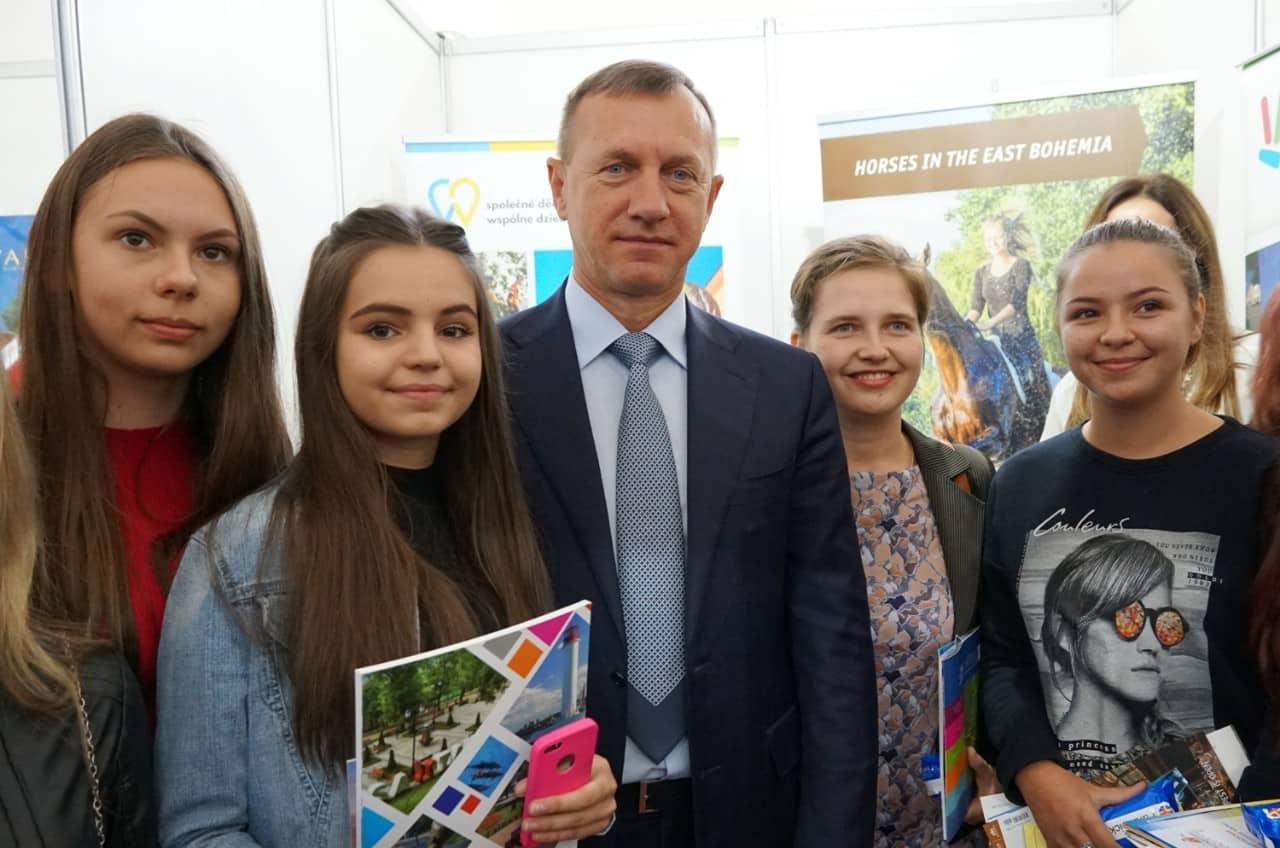 Інна Шаркань, Богдан Андріїв, студенти-туризмознавці