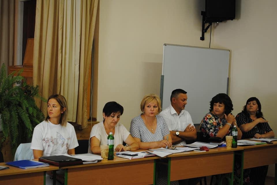 Засідання колегії управління освіти в Ужгороді