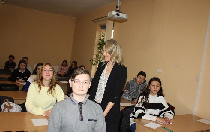 Під час обласної олімпіади з англійської мови