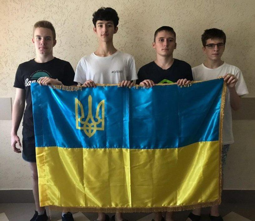 Зліва направо: Олег Навер, Ілля Кривов'яз, Андрій Олійник, Едуард Тихонюк