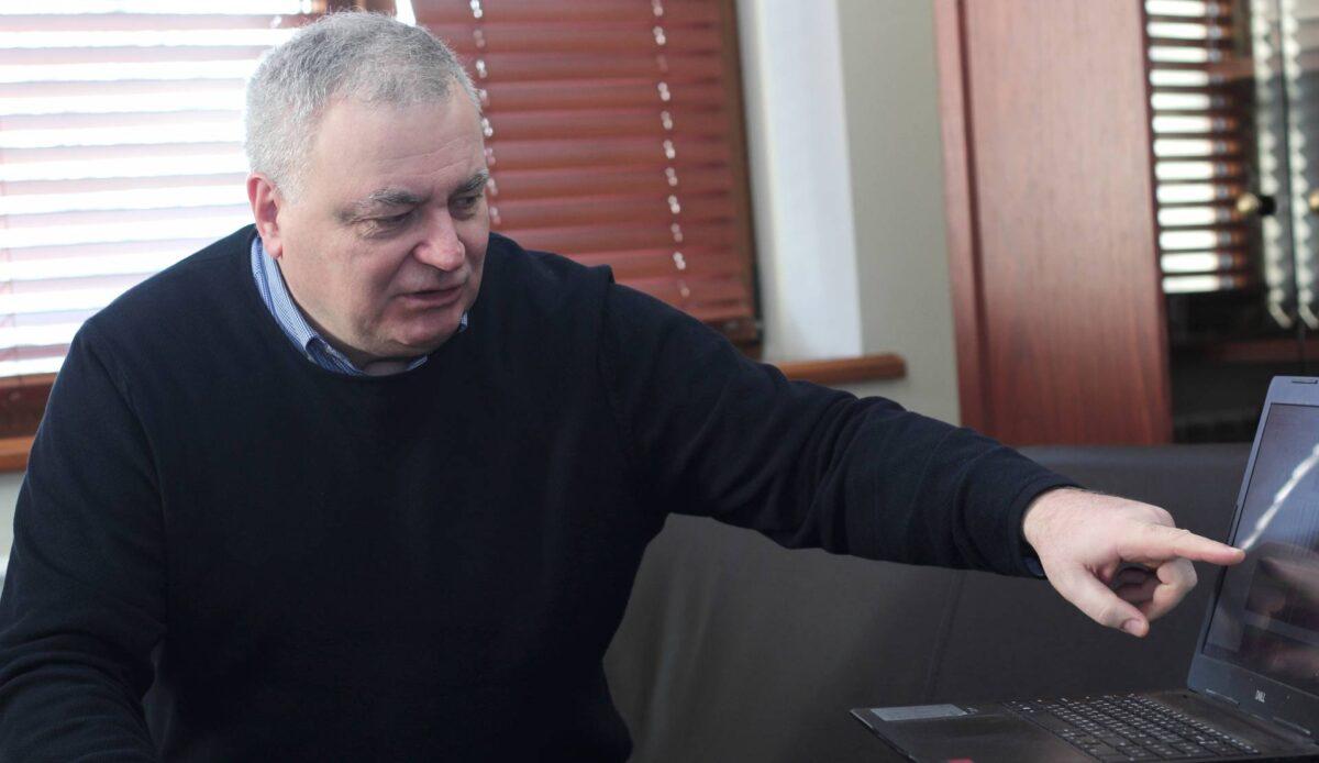 Ректор Ужгородського університету Володимир Смоланка