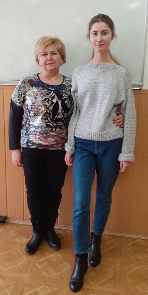 Олена Лешко та Кароліна Сусол