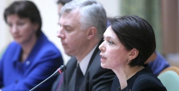 Сергій Квіт і Лілія Гриневич