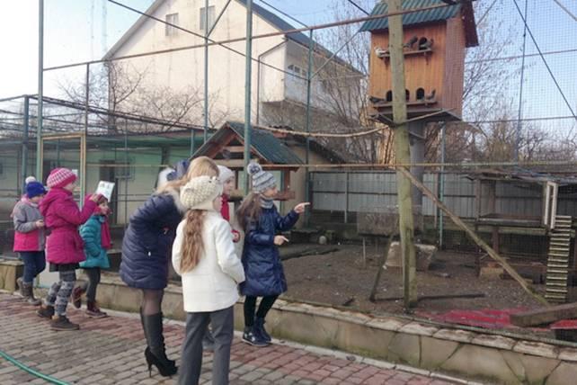 Екскурсія для школярів