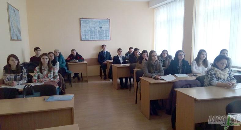Учасники МАН на економічному факультеті УжНУ