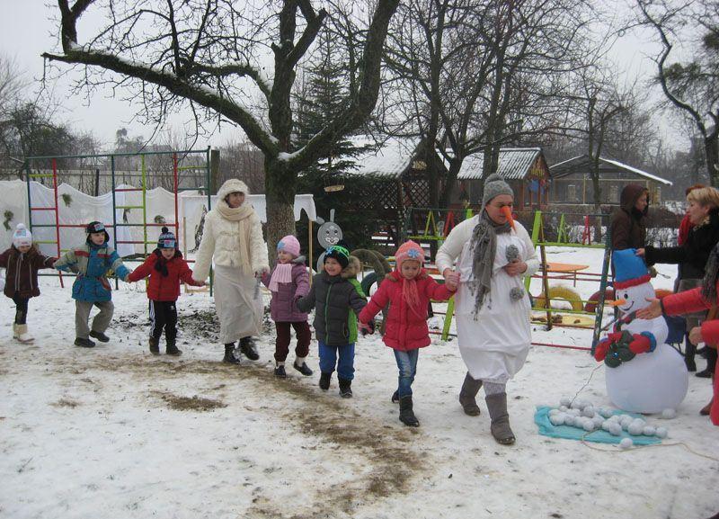Мукачівські дошкільнята розважаються :)