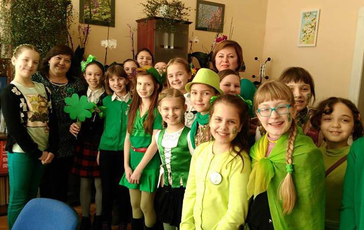 День святого Патріка в Ужгороді