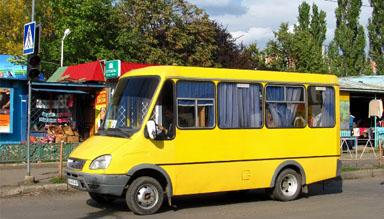 Маршрутка в Ужгороді