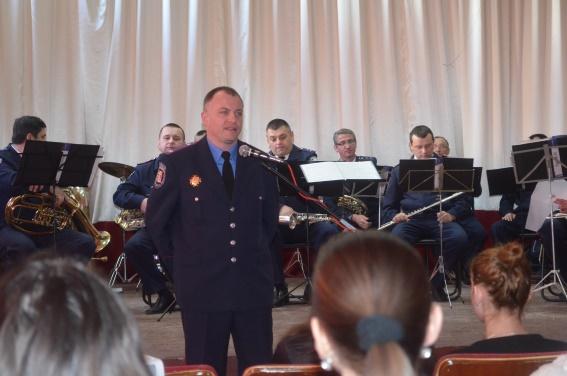 Поліціянти в Ужгородському коледжі