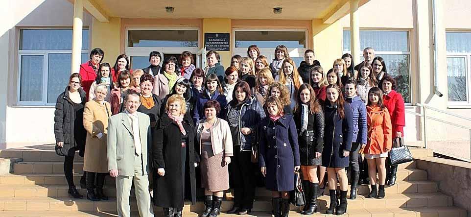Учасники семінару у Кальнику на Мукачівщині