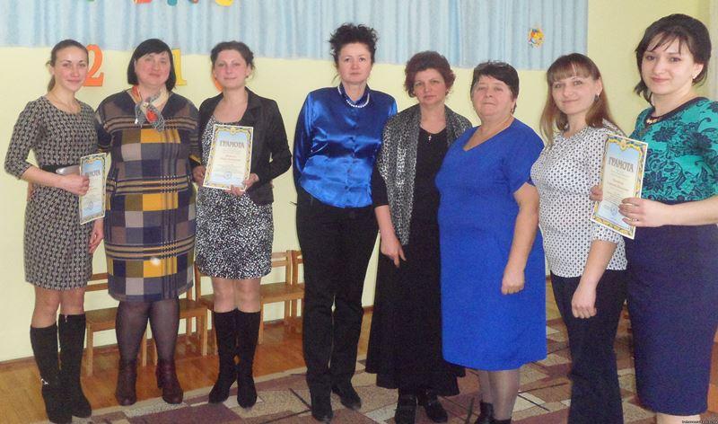 """Учасники конкурсу """"Вихователь року"""" на Іршавщині"""