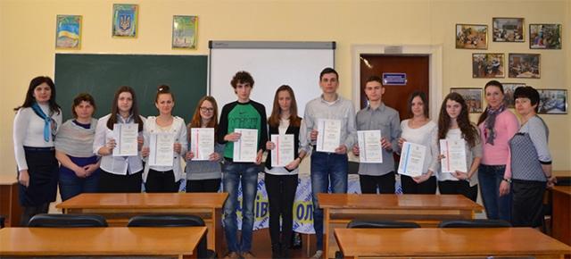 Учасники олімпіади з угорської мови та літератури
