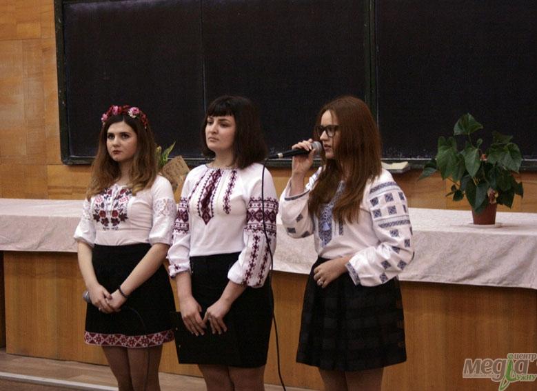 Шевченківське свято на філологічному факультеті УжНУ