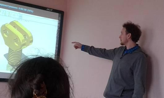 Лекція про 3D-моделювання в МДУ