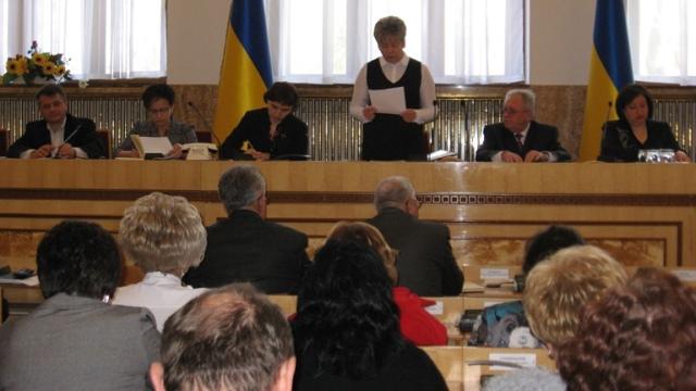 Під час засідання колегії департаменту освіти і науки Закарпатської ОДА