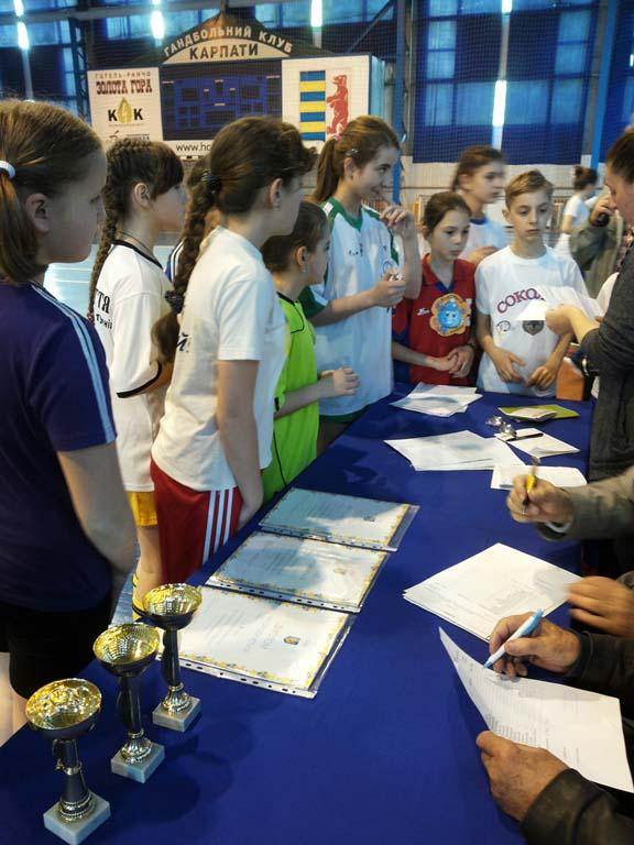 Реєстрація учасників Олімпійського лелеченяти