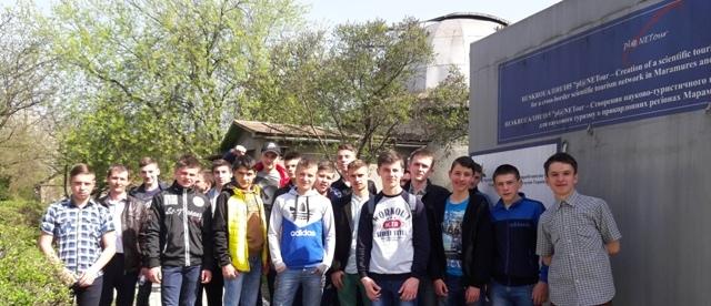 Студенти Свалявського технічного коледжу в УжНУ
