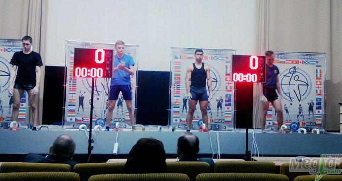 Студенти УжНУ на чемпіонаті з гирьового спорту