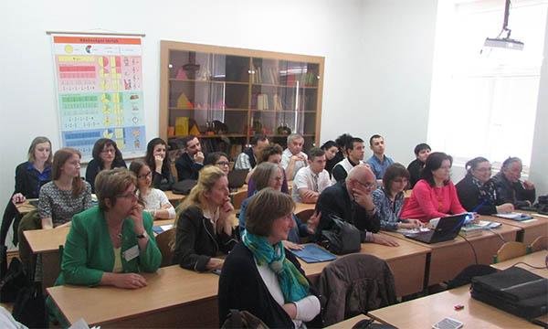 Учасники конференції в Закарпатському угорському інституті
