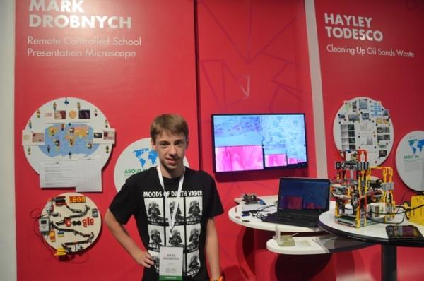 Марк Дробнич, юний винахідник із Ужгорода