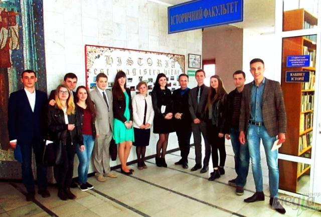 Учасники конференції в УжНУ