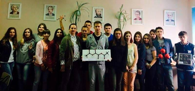 В Ужгородському торговельно-економічному коледжі креативно ставляться до вивчення хімії
