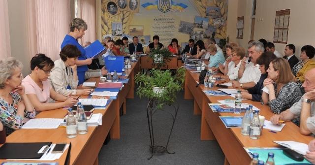 Ганна Сопкова, Колегія департаменту освіти і науки Закарпатської ОДА