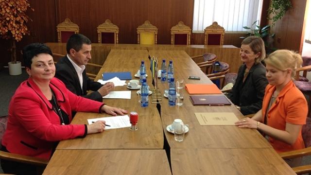Підписання угоди між ЗІППО й університетом у Банській Бистриці