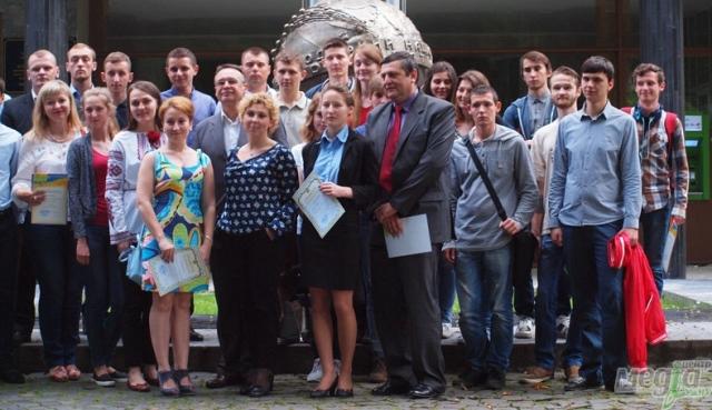 Учасники конкурсу стартапів в УжНУ