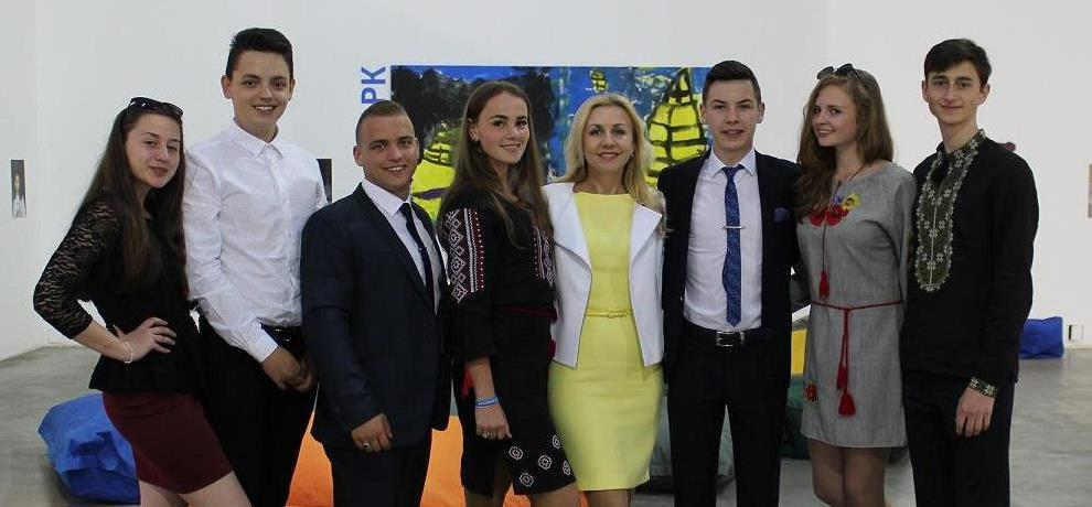 Закарпатські школярі у Києві