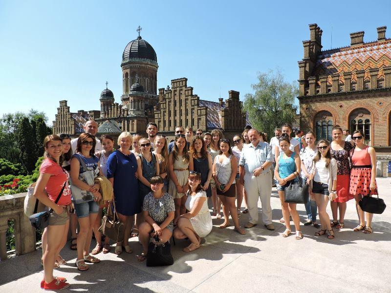 Студенти Закарпатського угорського інституту в Чернівцях