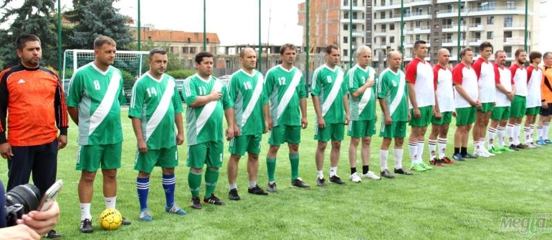 Футбольний турнір на новому спортивному майданчику УжНУ