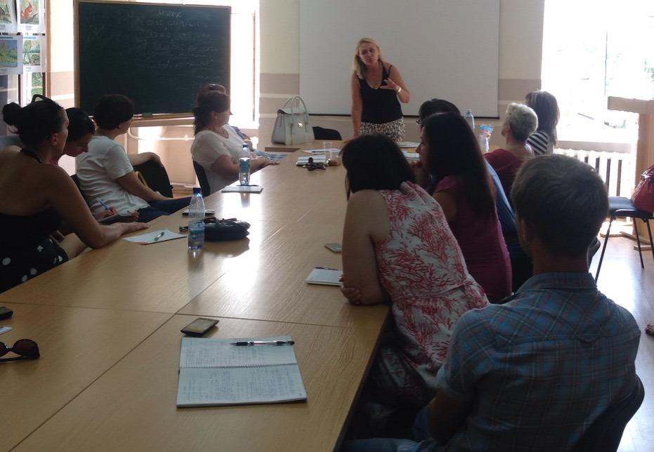 Семінар психологів у Закарпатському інституті післядипломної педагогічної освіти
