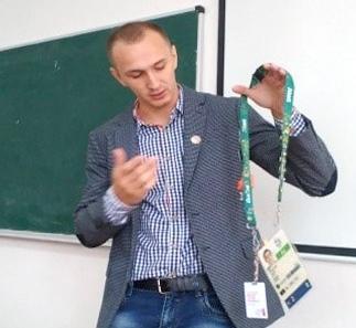 Фехтувальник Анатолій Герей в УжНУ
