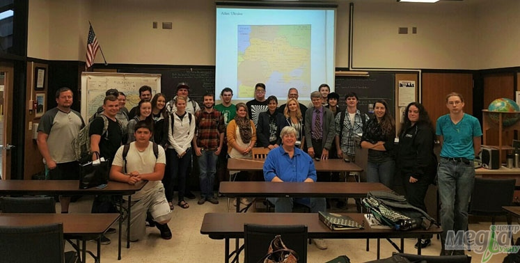 Науковці УжНУ під час стажування у США - на лекції американських колег