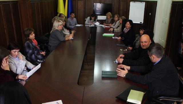 Під час зустрічі голів батьківських комітетів у Мукачеві