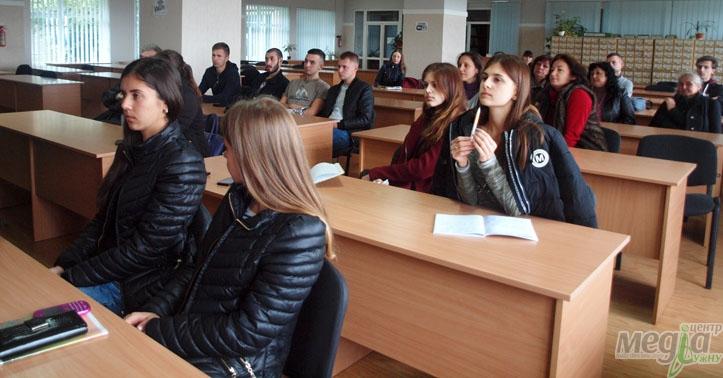Зустріч в УжНУ з чеськими поліціянтами