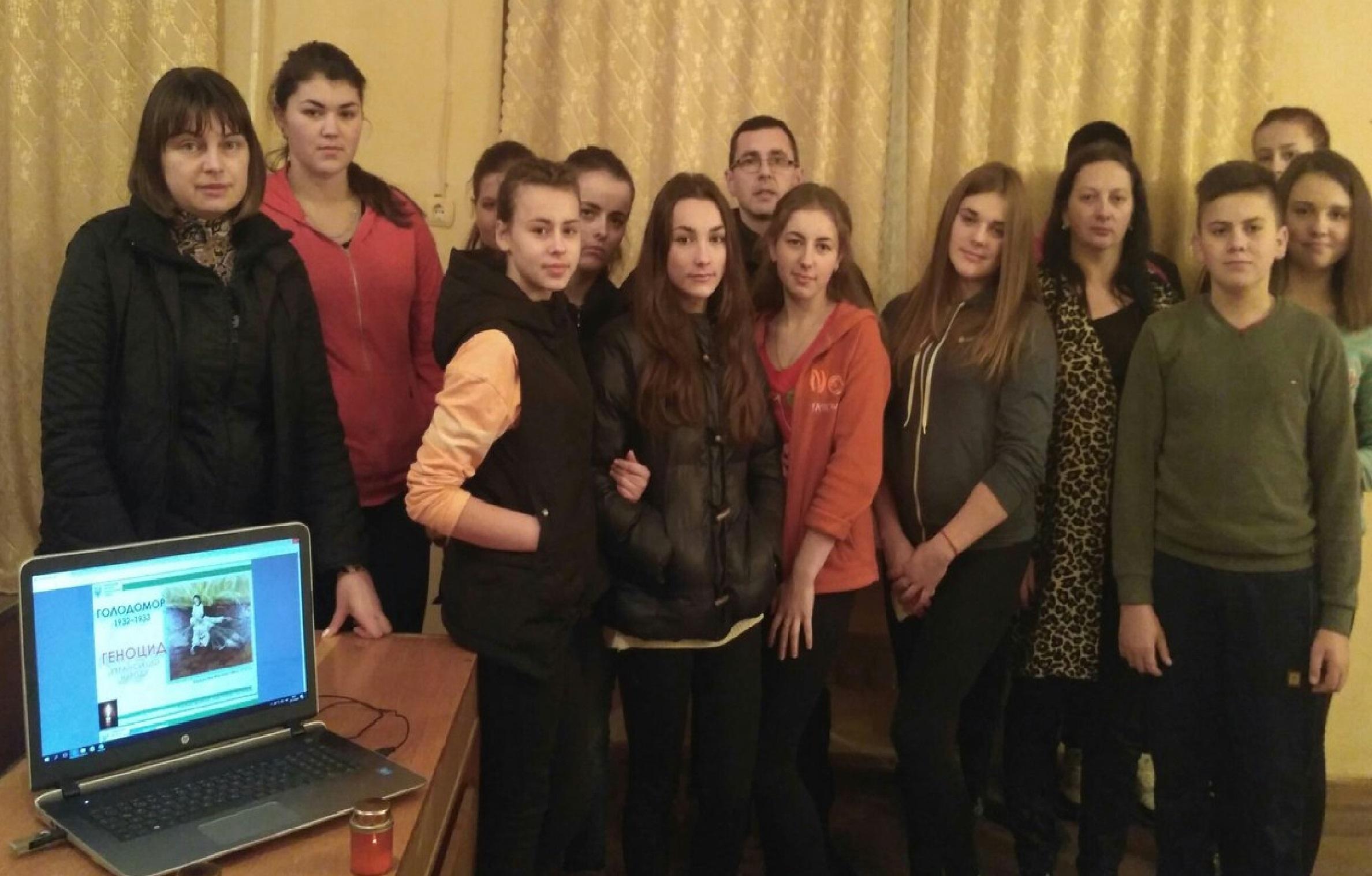Ушанування пам'яті жертв Голодомору в УТЕК КНТЕУ