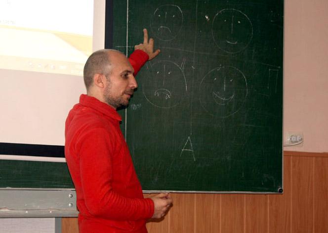 Павло Форкош, відділення журналістики УжНУ