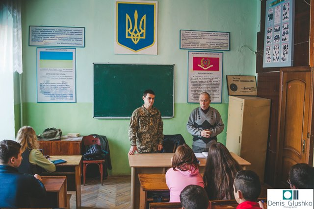 Зустріч із молодшим сержантом Віталієм Мотилем