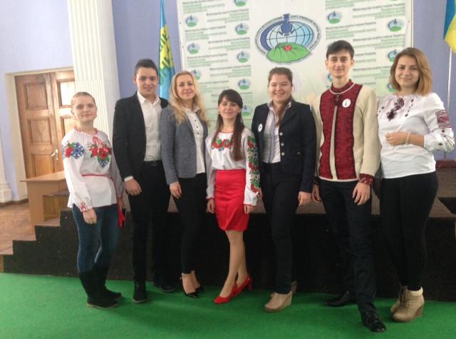 Закарпатські школярі - учасники Всеукраїнських зборів лідерів учнівського самоврядування